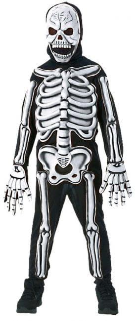 Skelett Kinderkostüm 3D L