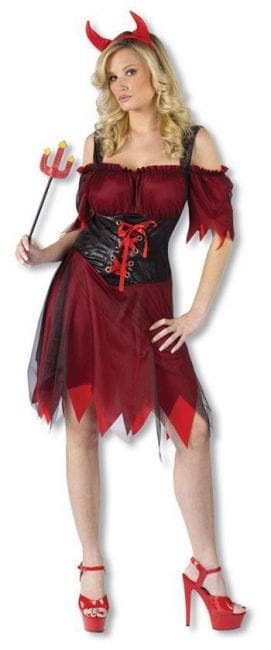 Sexy Devil Bride Costume SM