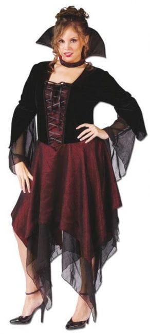 Sexy Vampir Lady Kostüm XL