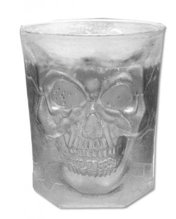 Skull Scotch Glass