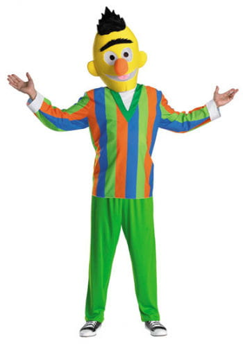 Sesame Street Bert Costume Size XL