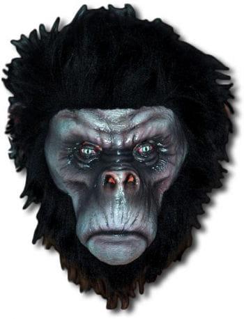 Böser Schimpanse Maske schwarz