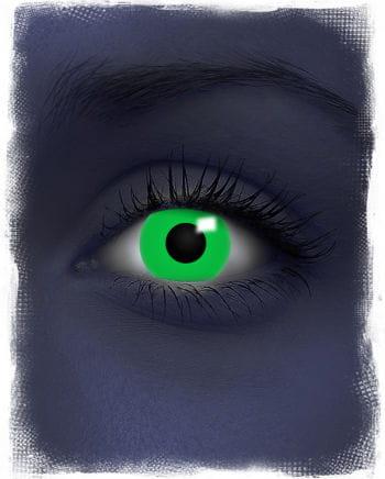 UV aktive Kontaktlinsen grün