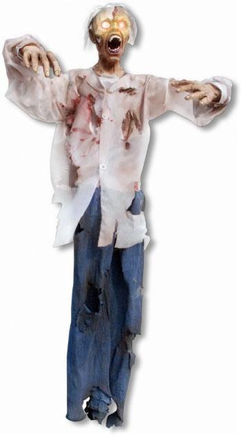 Lebensgroße Zombie Hängefigur