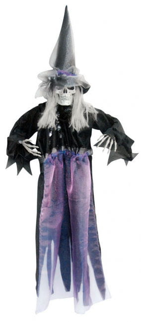 Witch with Black Cloth