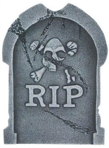 Grave stone Rest in Peace 40cm