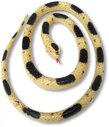 Rubber Snake Beige 90cm