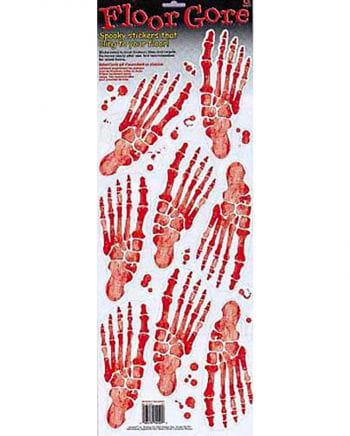 Skeletal footprint ground sheet
