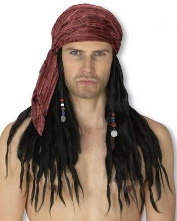 Karibik Piratenperücke