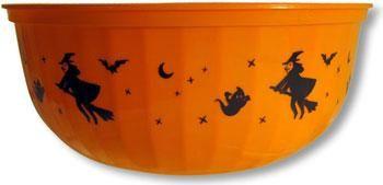 Orange Halloween Bowl