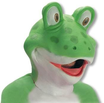 Frog Latex Mask