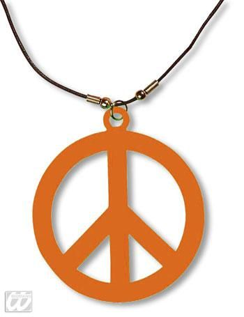 Plastic Hippie chain orange