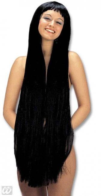 Super Long Eve Wig Black