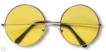 Yellow 70s Sunglasses