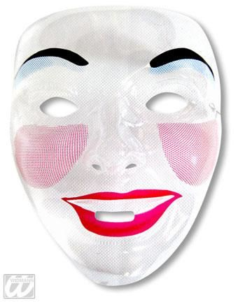 Women face mask Laughing Mouth