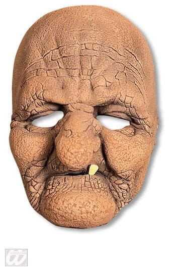Old Wrinkly Witch Half Mask
