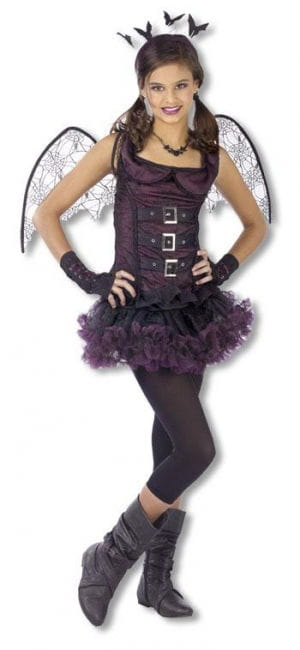 spider bat costume teen violet naughty halloween costume for teens horror. Black Bedroom Furniture Sets. Home Design Ideas