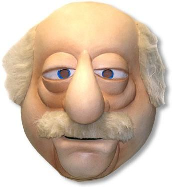 Muppets Waldorf Deluxe Mask
