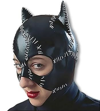 Catwoman Latex Maske