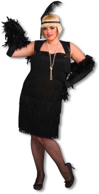 Cabaret Flapper Girl Kostüm XL