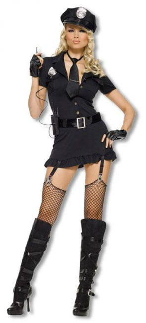 Dirty Cop Kostüm Medium Large