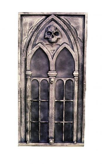 gothic deko fenster halloween kulissen bau horror. Black Bedroom Furniture Sets. Home Design Ideas