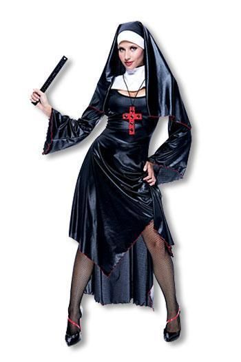 Sexy Nun Costume L