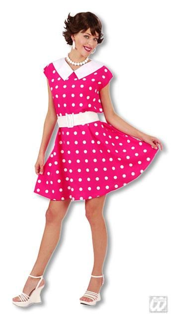 50s Polka Dot Dress Gr. M