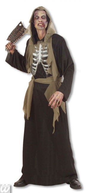 Zombie Skeleton Costume S