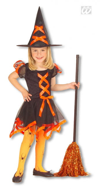 Witch Child Costume orange