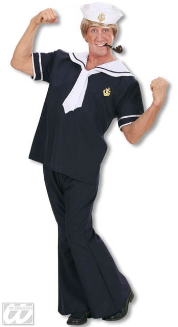 Sailor Costume Blue L