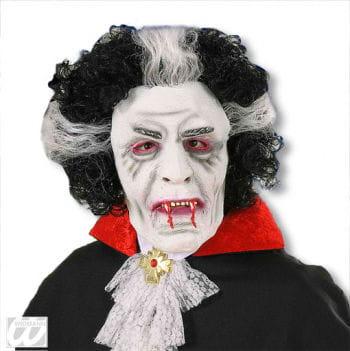 Dracula Mask with Hair