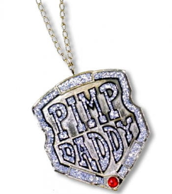 Rapper Chain With Medalion Pimp Daddy