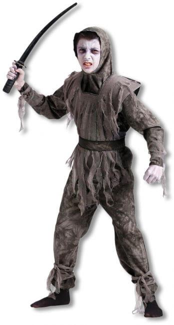 Zombie Ninja Kinderkostüm L