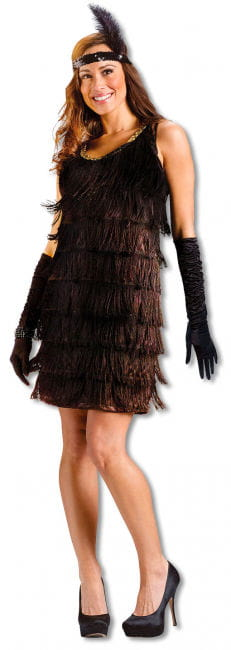 Charleston Flapper Girl Costume ML