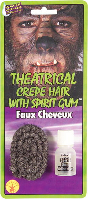 Theatrial Crepe Hair Grey