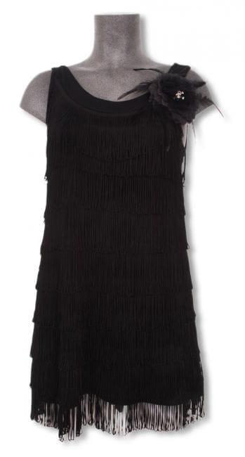 20s dress black