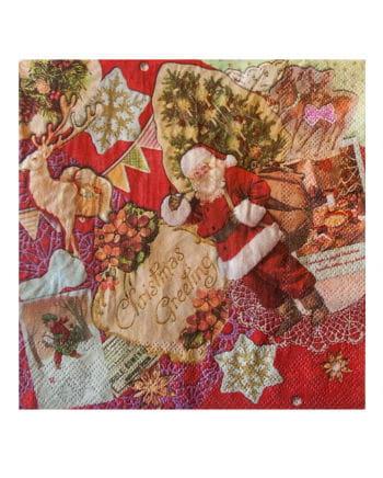 Retro Christmas Napkins