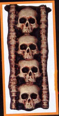 Skull Display Vertical