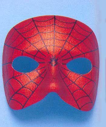 Spinnen Gesichts Maske satiniert