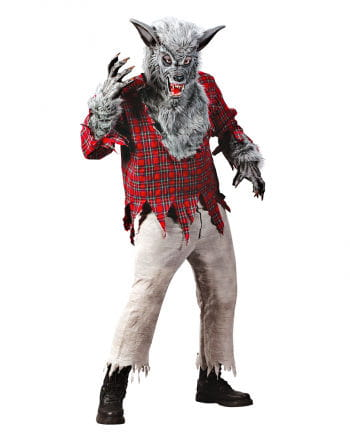 Werewolf Costume Grey