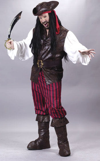 Pirate Costume Deluxe XL