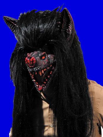Demon Bat Latex Mask