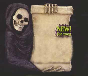 Totenkopf Tafel / Skull Display