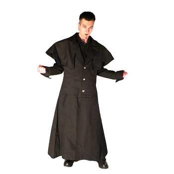 Coat Blk Cotton Kutscher Size XS