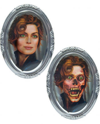 3D Lenticular Skull woman