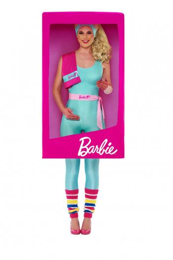 Barbie 3D Verpackung Kostüm für Erwachsene