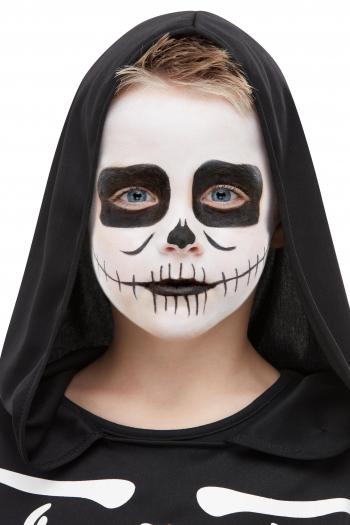 Skeleton Aqua FX Make Up Set For Children