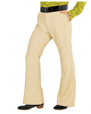 Groovy 70s Men's Breeches Beige