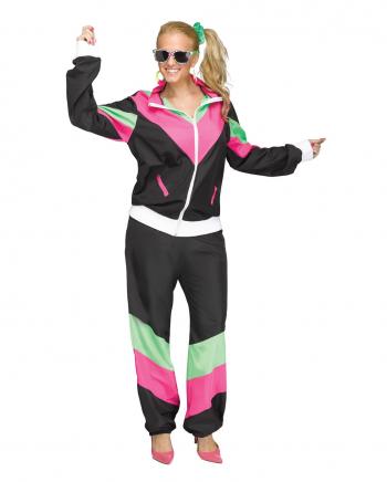 80er Jahre Bad Taste Trainingsanzug Kostüm